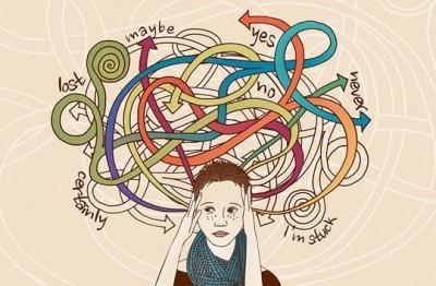 چگونه افکار مزاحم را حذف کنیم؟