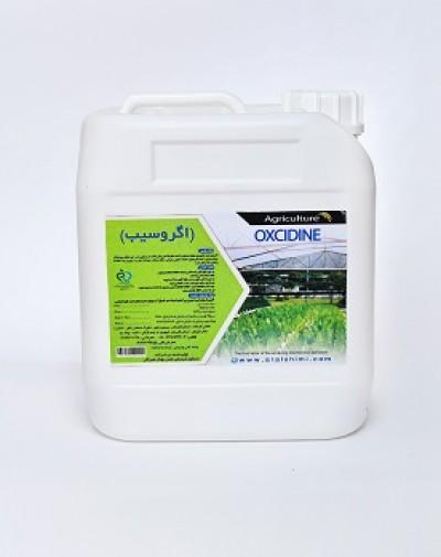 محلول ضدعفوني کننده ارگانيک اگروسيب و پراکسدین مخصوص کشاورزي و گياهان