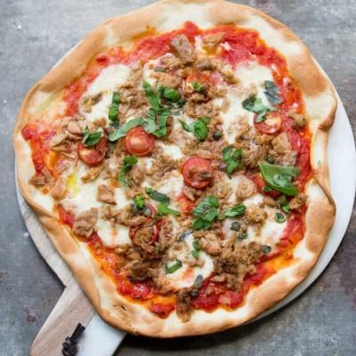 پیتزای تن ماهی