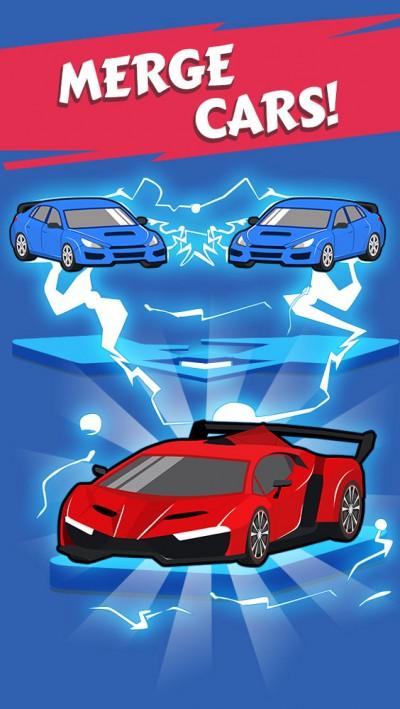 بازی سرگرمکننده Merge Car