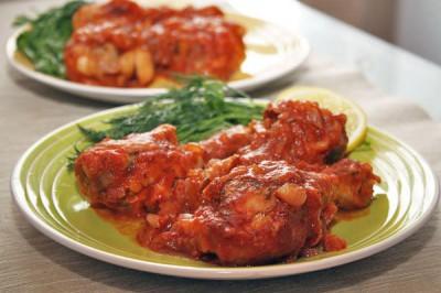آموزش پخت مرغ با پوره گوجه فرنگی