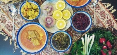 خورش قیمه یا دوغ پا غذای سنتی بلوچستان