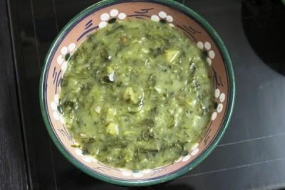 آموزش پخت آش شولی غذای سنتی یزد