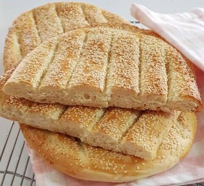 آموزش پخت نان بربری خانگی