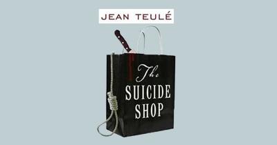 کتاب مغازه خودکشی؛ تلاش برای رنگآمیزی دنیای سیاه آدم بزرگها