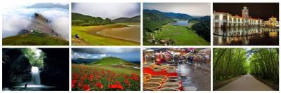 املش - فرهنگ و هنر ، مناظر زیبا و جهانگردی