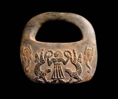 موزه ملی : وزنه سنگ، فرهنگ جیرفت و عصر مفرغ