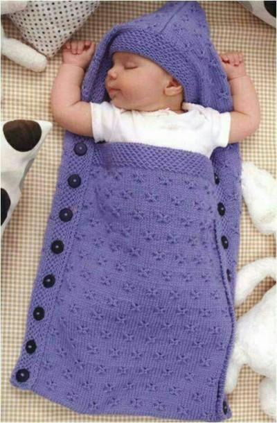 آموزش بافت پتو نوزادی