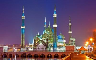 سبک های معماری اسلامی مسجد کریستال
