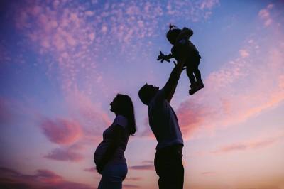 پدری کردن برای کودک قبل از تولد!