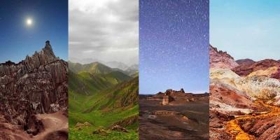 عجایب طبیعی و دره های زیبا در ایران