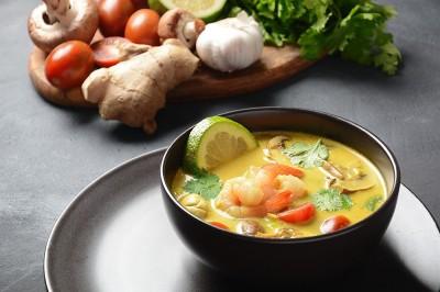 طرز تهیه سوپ میگو ترش و شیرین