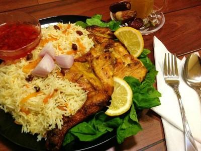 طرز تهیه غذای ملی عربستان سعودی - کابسا فهم Kabsa