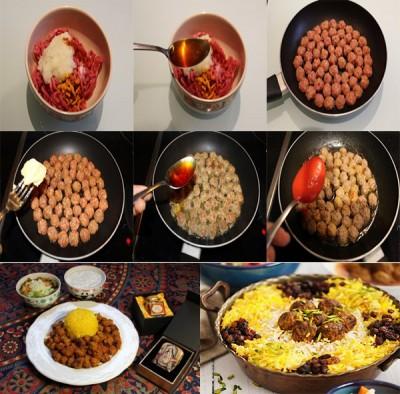 طرز تهیه کوفته ریزه برای انواع غذاها