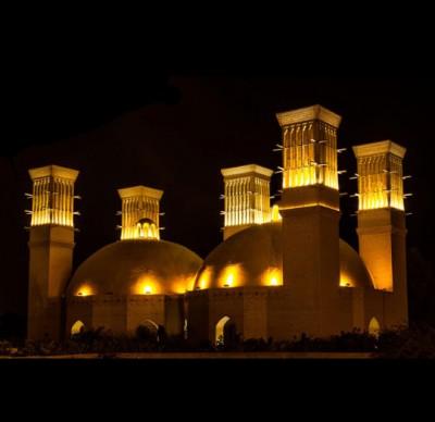 آب انبارهای دوقلوی کیش، مکان های تاریخی کیش