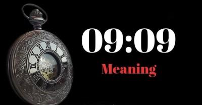 معنی 09:09