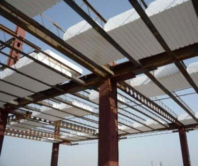 نحوه ی نصب یونولیت سقفی