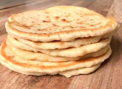 طرز تهیه ساده ترین نان خانگی پیتا یونانی