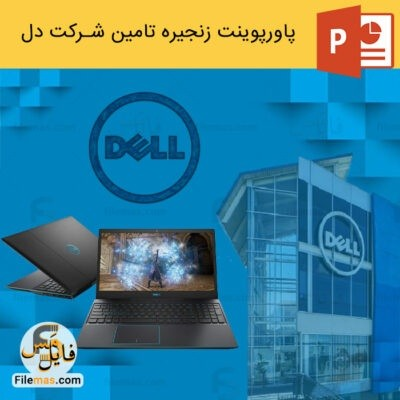 دانلود (اسلاید) پاورپوینت زنجیره تامین شرکت دل | مدیریت نوین در کمپانی Dell
