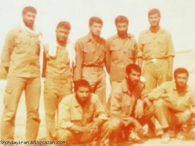 شهید منصور داروئیان چند روز قبل از عملیات آزادسازی خرمشهر