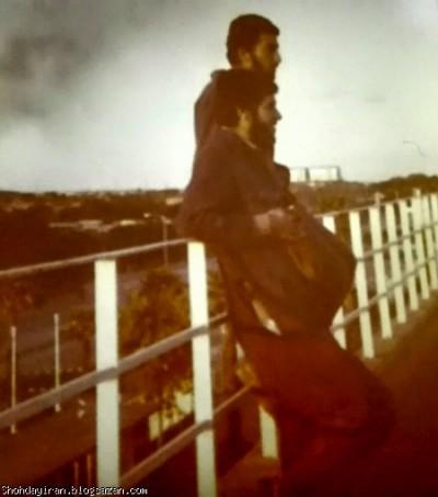 شهید منصور داروئیان در استادیوم آبادان