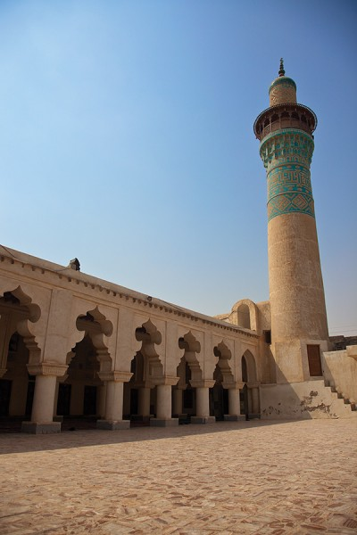 مسجد و برج ملک ابن عباس (علی) - بندرلنگه