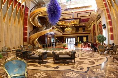 هتل درویشی مشهد، تنها هتل آتریوم شرق کشور